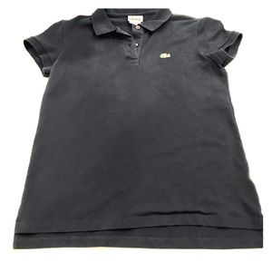 Lacoste polo shirt size 42 navy blue